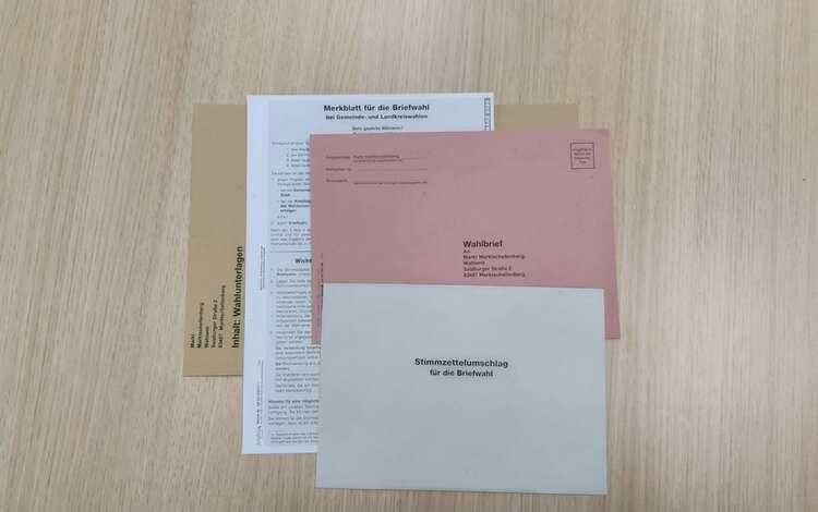 Briefwahl Unterlagen
