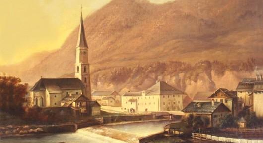 Historische Ansicht von Marktschellenberg